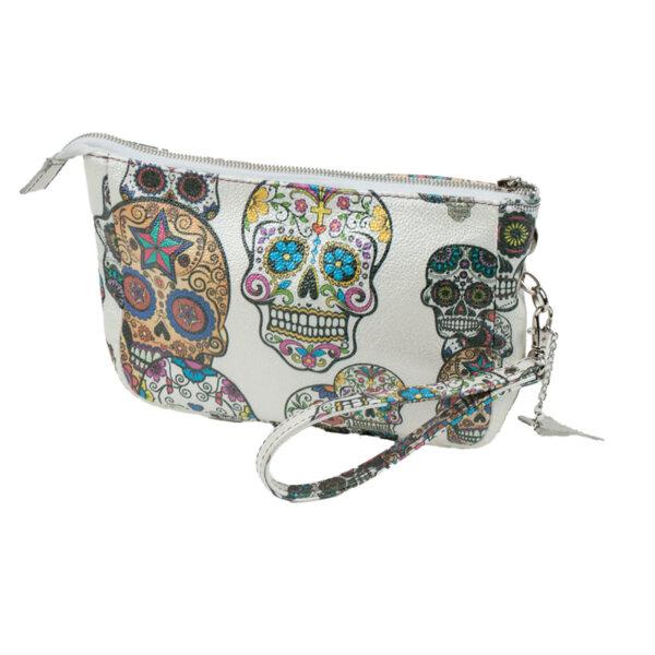 Дамска чанта с черепи Moda Italiana