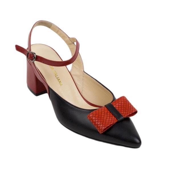 Дамски обувки 503blackred