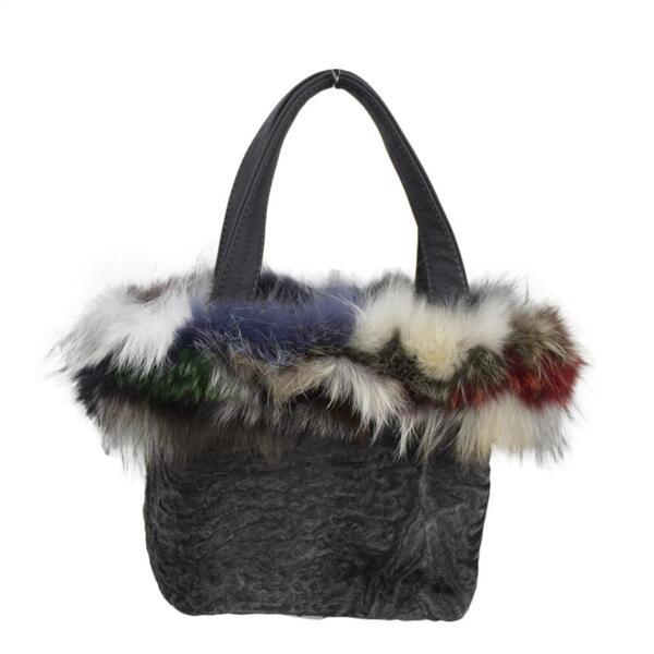 Дамска чанта BlackAstragan Moda Italiana