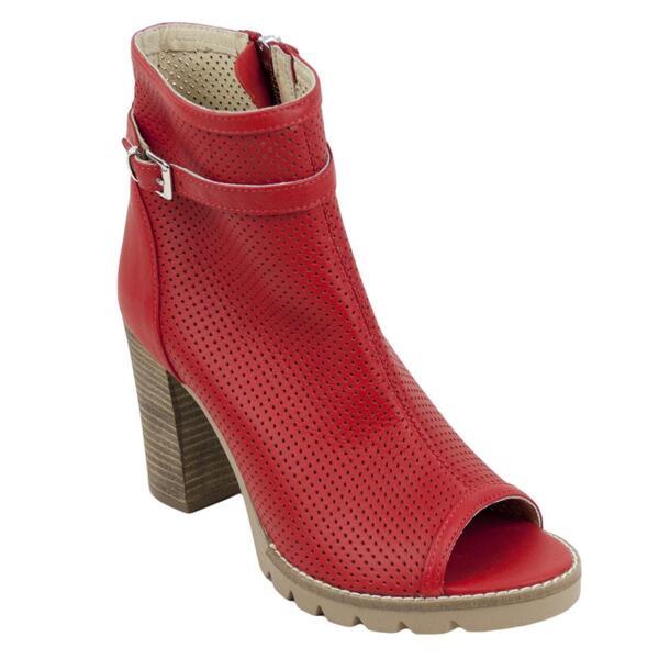 Дамски сандали 2589red