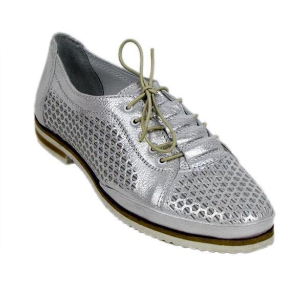 Дамски обувки 0318WhiteSaten