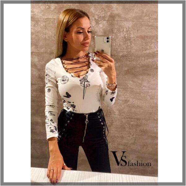 Дамско Боди LAUREN от VS Fashion