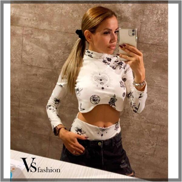 Дамски Комплект KIRA (Поло с бикина) от VS Fashion