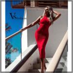 Дамска Рокля FLORENCE от VS Fashion
