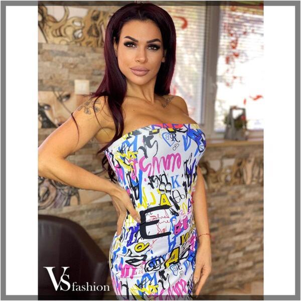 Дамска Рокля JENNA от VS Fashion