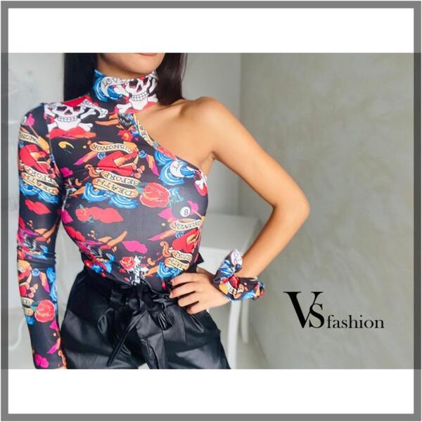 Дамска Блуза RENATA (+скрънч за коса) от VS Fashion