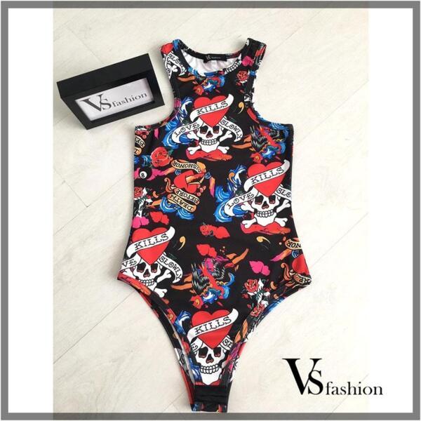 Дамско Боди MILA от VS Fashion