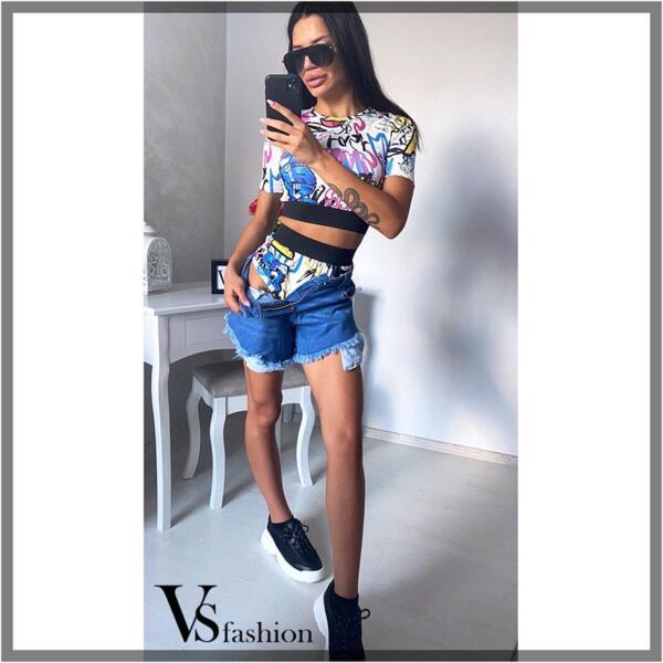 Дамски Комплект AVERY (Гащи с блуза) от VS Fashion