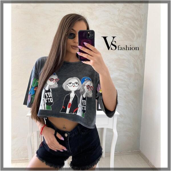 Дамска Тениска ANGELICA от VS Fashion