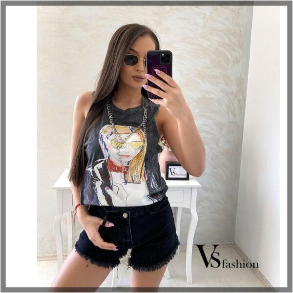 Дамски Потник ALEAH (с верига) от VS Fashion