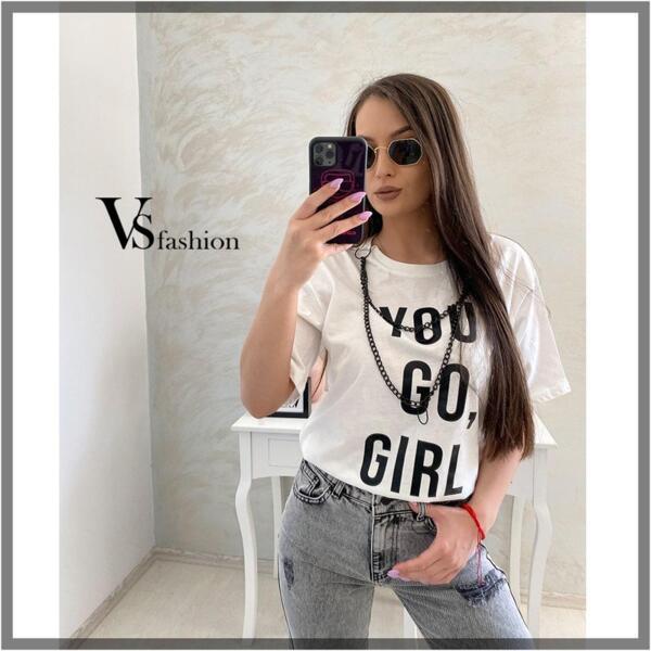 Дамска Тениска IVORY от VS Fashion
