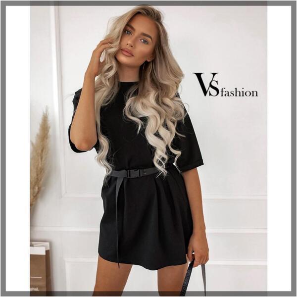Дамска Рокля ISABELA (с колан) от VS Fashion