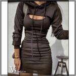 Дамска Рокля WREN (с ръкави) от Vs Fashion