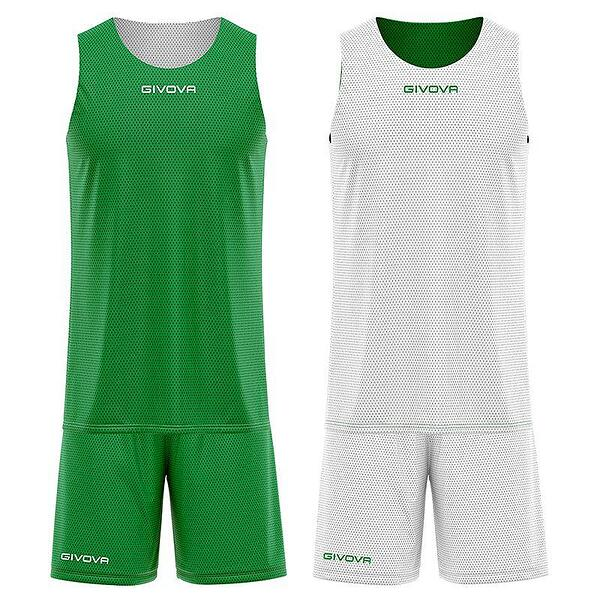Детски Двулицев Баскетболен Екип GIVOVA Kit Double 1303