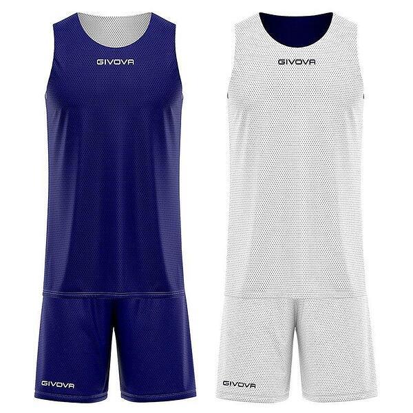 Детски Двулицев Баскетболен Екип GIVOVA Kit Double 0403