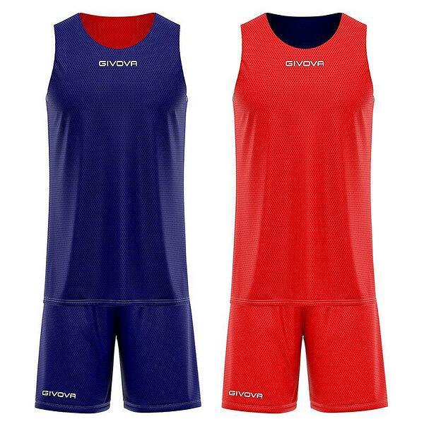 Детски Двулицев Баскетболен Екип GIVOVA Kit Double 0412