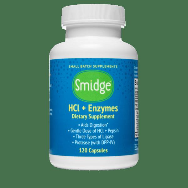 Enzime digestive + HCL -120 capsule