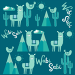 Wabi Sabi Llama Mama