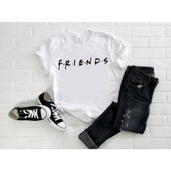 Дамска тениска с лого FRIENDS