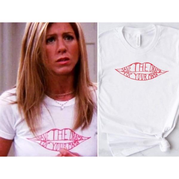 Дамска тениска с Friends Рейчъл Save the drama ...