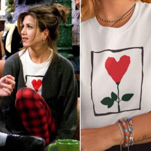 Дамска тениска с Friends Рейчъл Цвете