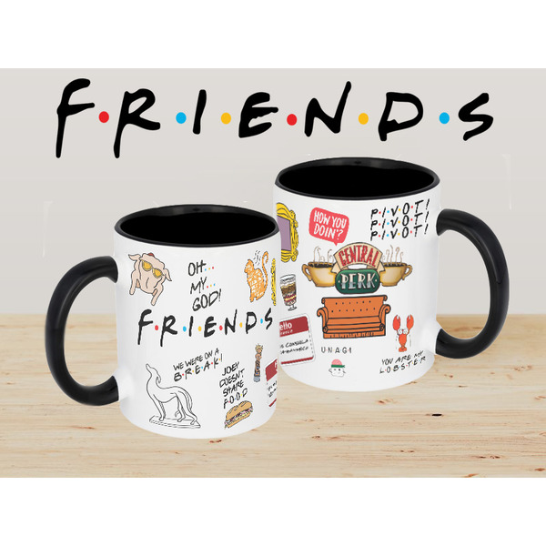 Чаша с лого FRIENDS