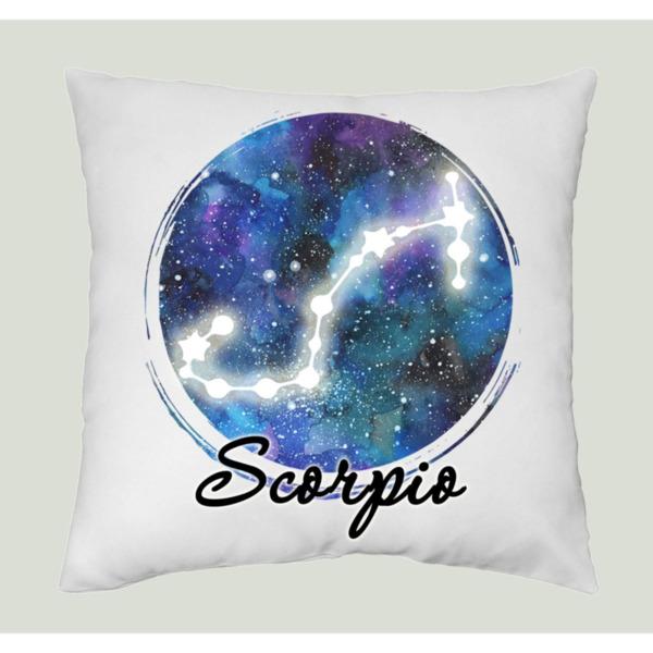 Възглавница Нощно небе зодия Скорпион/ Scorpio