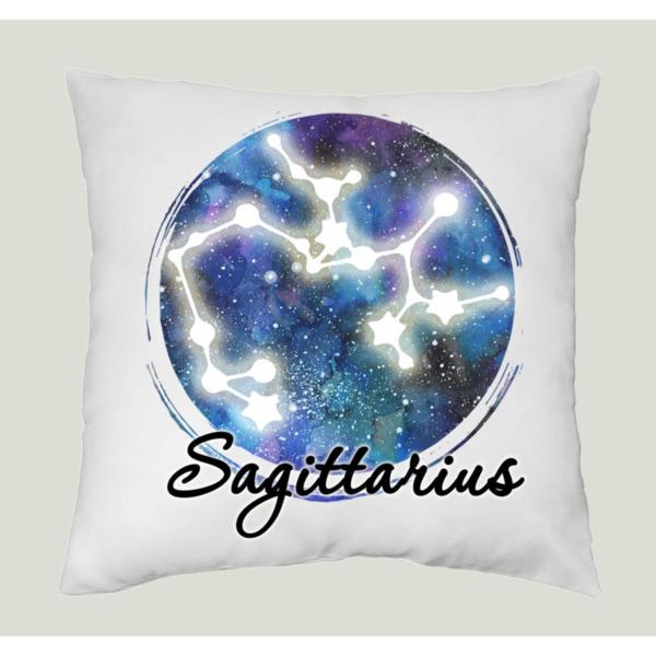 Възглавница Нощно небе зодия Стрелец/ Sagittarius