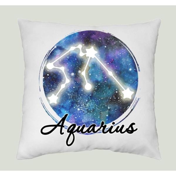 Възглавница Нощно небе зодия Водолей/ Aquarius