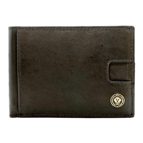 Мъжки портфейл Cross - Ariel, с щипка за банкноти, черен