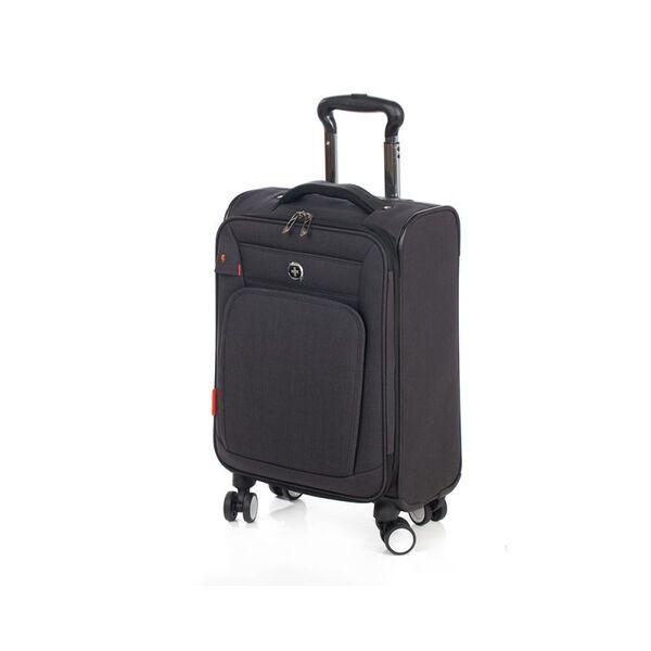 Куфар с колела Swissdigital, черен