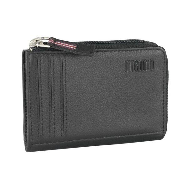 Калъф за кредитни карти Mano - Medio RV, черен