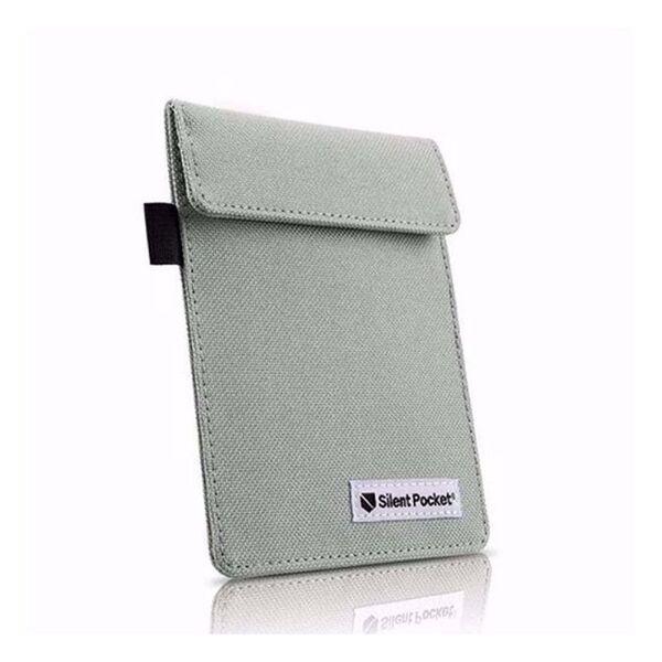 Калъф/протектор за автомобилен ключ (за автомобили с безключово запалване) Silent Pocket, Светлосив