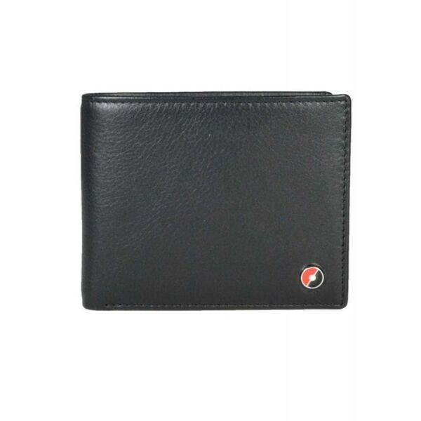 Мъжки портфейл Sheaffer - Imprint, черен-червен