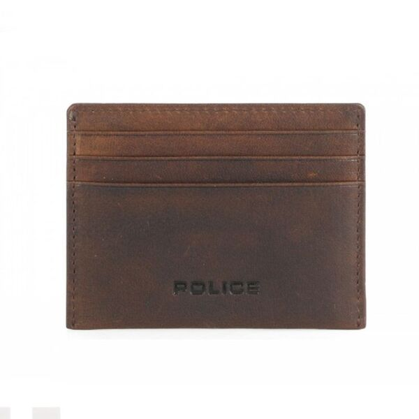 Калъф за карти и документи Police - Waldo, кафяв