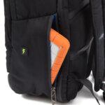 Раница Swissdigital, джоб за лаптоп, USB порт, място за слушалки, черна