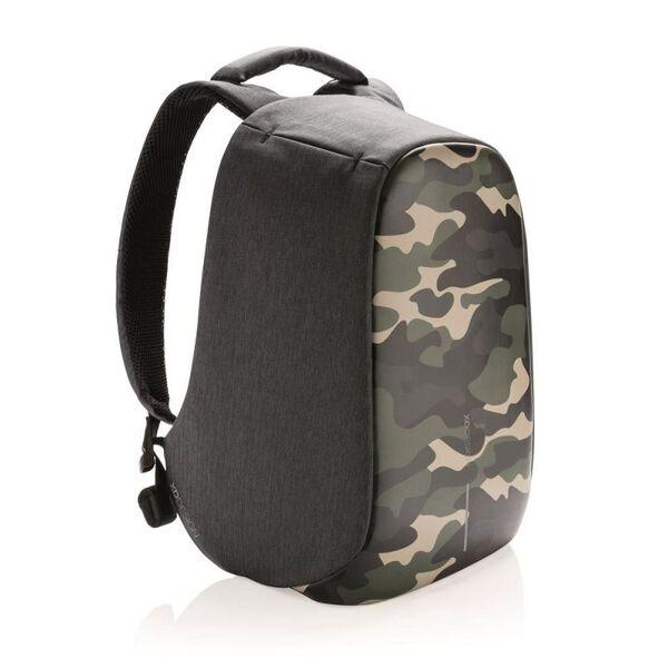 Раница XD Design - Bobby Compact, защита от кражби, Camouflage Green