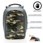 Раница против кражба - Bobby Compact Camouflage Green