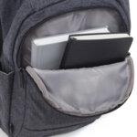 Раница Swissdigital, джоб за лаптоп, USB порт, тъвнокафява