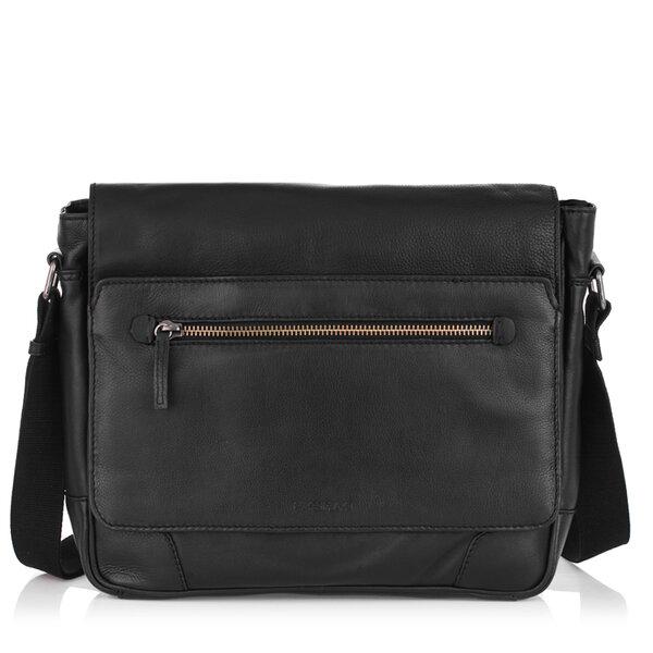 Мъжка чанта с цип OILY DIANA, Silver Flame