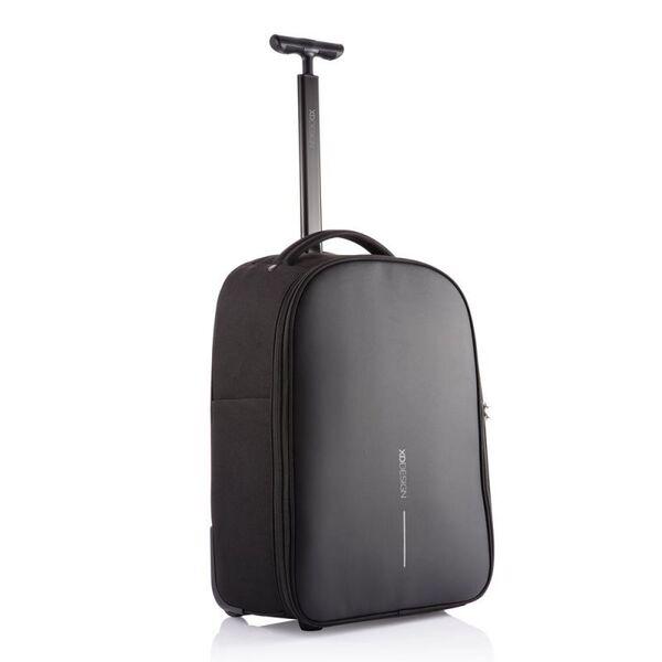 Раница с изтегляща дръжка и колелца XD Design - Bobby Trolley, черна