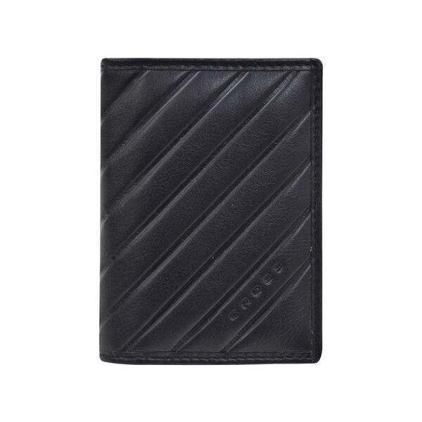 Калъф за документи, карти и визитки Cross Grabado, черен