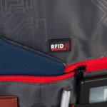 Раница Swissdigital, джоб за лаптоп, черна