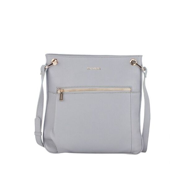 Дамска чанта ROSSI, сива