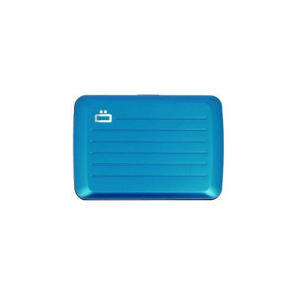 Портфейл OGON Card case Stockholm V2, син