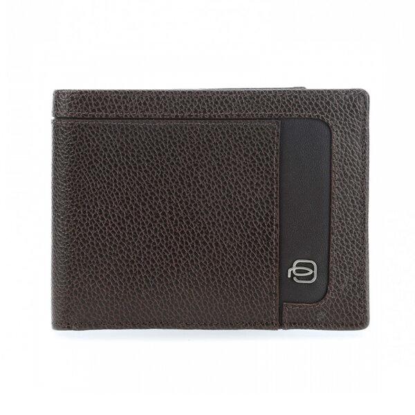 Мъжки портфейл Piquadro Erse, с 12 отделения за карти и RFID защита