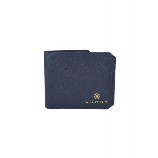 Мъжки портфейл с монетник First Class, тъмносин