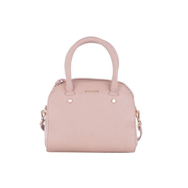 Дамска чанта ROSSI, перлено розово