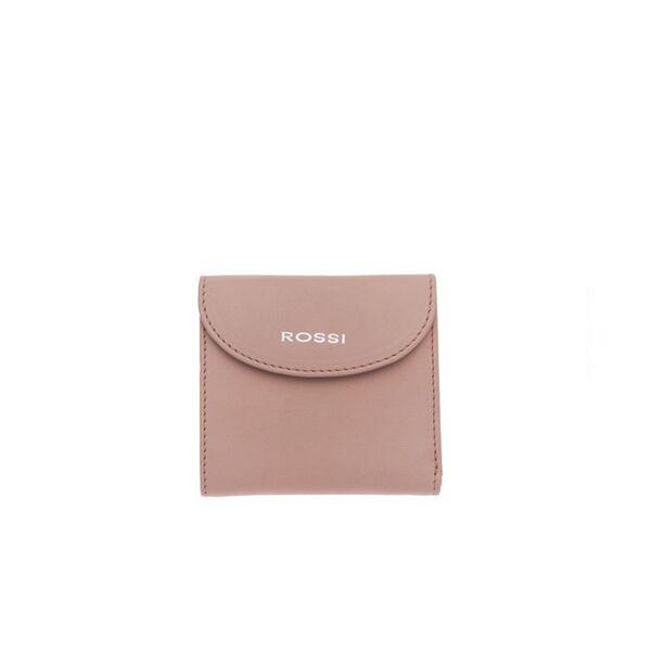 Компактно дамско портмоне ROSSI, розово