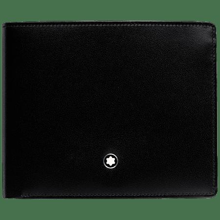 Портфейл Montblanc с 10 отделения за кредитни карти и монетник
